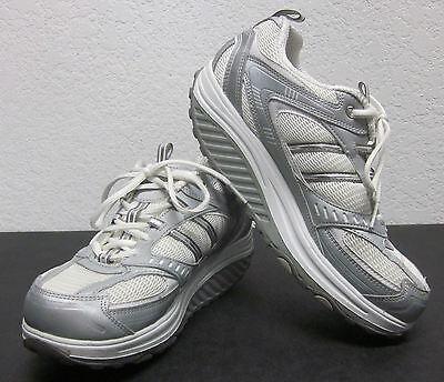 Gut Ausgebildete Skechers Form Ups Damen GrÖsse Weißes Leder/textil Wandern Tönend Schuhe Niedriger Preis 9