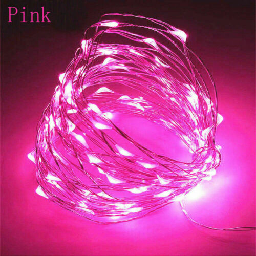 20//30//50//100 LED Battery Micro Rice Wire Copper Fairy String Lights Party Lamp