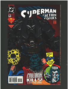 Superman-in-Action-Comics-695-January-1994-DC-Comics-FOIL-COVER