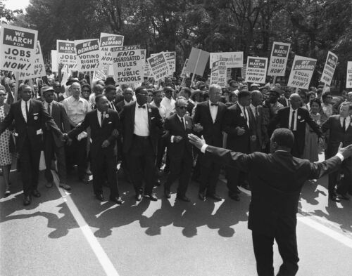 Official Historic Photo Famous 1963 MARCH ON WASHINGTON Civil Rights MLK History