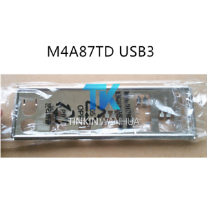 IO I//O SHIELD back plate BLENDE BRACKET for ASUS M4A87TD USB3
