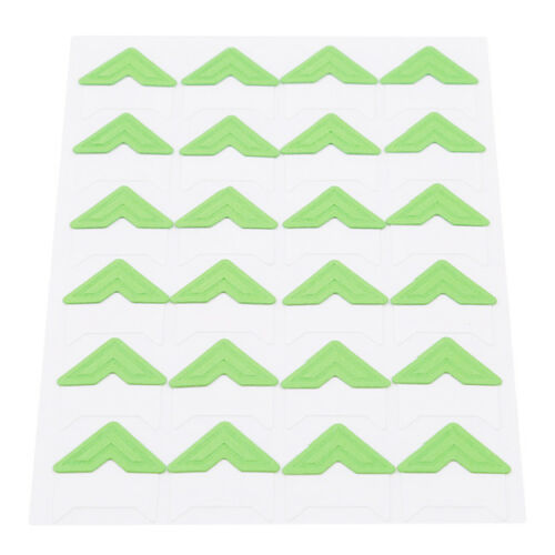 24pcs Set Multi-Colored Self-Adhesive Photo Mounting Corners Sticker DIY WE