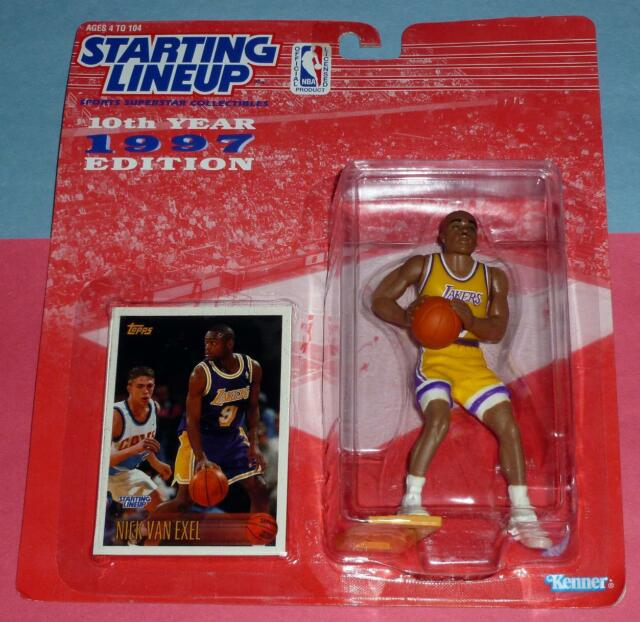 02d0849cb63 1997 NICK VAN EXEL Los Angeles LA Lakers NM  9   FREE s h   last ...