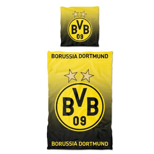 Borussia Dortmund BVB-Bettwäsche Punkteverlauf 135 x 200 cm
