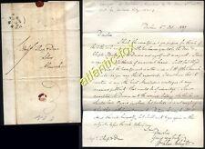 1839 DURHAM letter William Charles Chaytor, M.P. & Registrar to Dean & Chapter