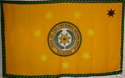 Aufnäher Indianer Cherokee Nation Patch Flagge Fahne