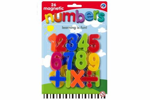 Magnético minúsculas E Imã De Geladeira Números De Aprendizado Das Crianças Brinquedo