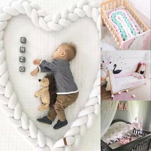 Bettschlange Zopfschlange 1M-5M Baby Bettrolle Nackenrolle Babynest Stock