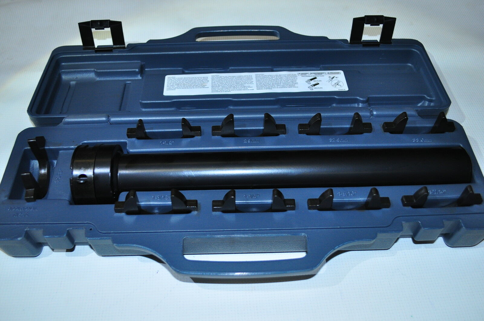 Master Inner Tie Rod Tool Set -9 crowsfeet wrench  fittings Masde in USA Lisle