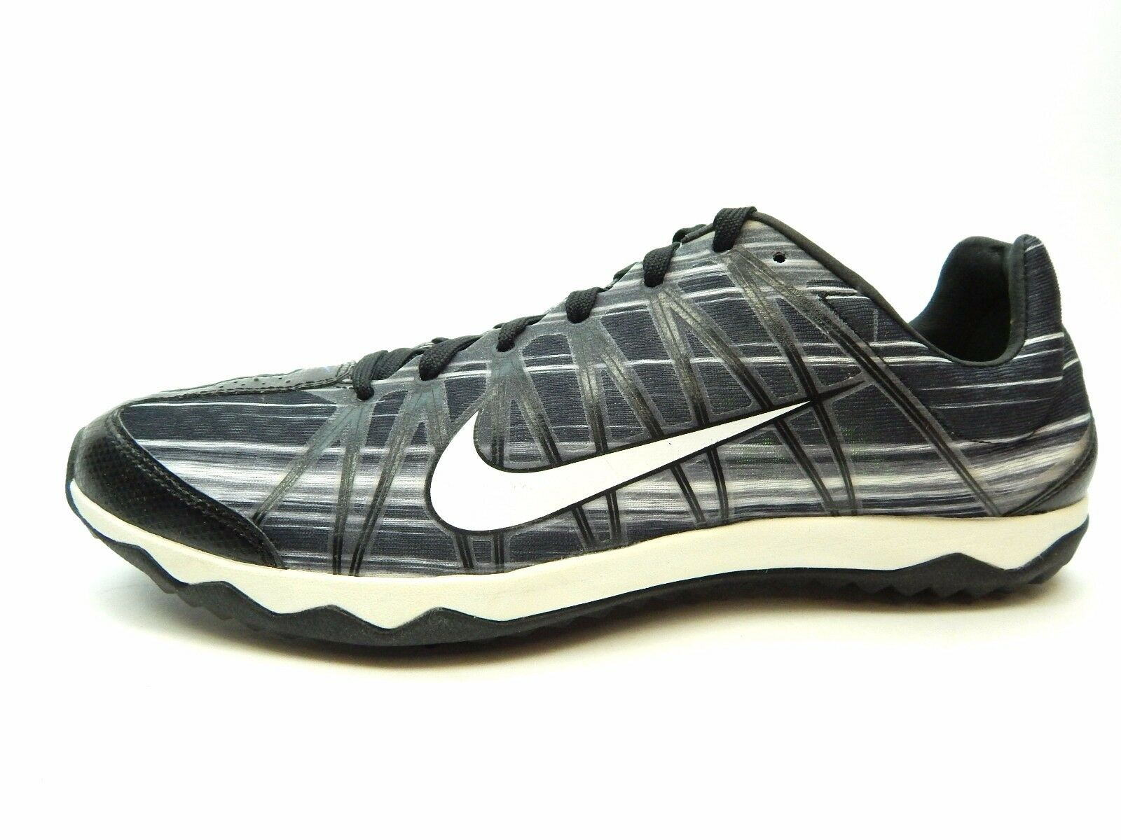 NIKE ZOOM RIVAL XC 605506 014 BLACK SUMMIT WHITE MEN SHOES SIZE 11 & 12.5 Comfortable and good-looking