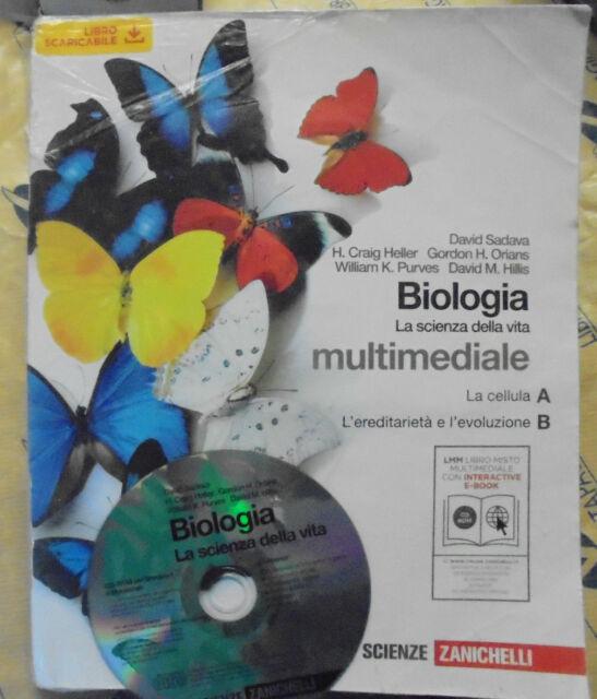 BIOLOGIA. LA SCIENZA DELLA VITA TOMI A+B con Cd - D.SADAVA e altri - ZANICHELLI