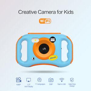 AMKOV-WiFi-1080P-5MP-Digital-Video-Camera-Kids-Children-Xmas-Birthday-Gift-Toy