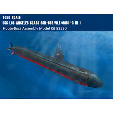 HobbyBoss 83530 1/350 USS Los Angeles Class SSN-688/VLS/688I (3 in 1) Submarine