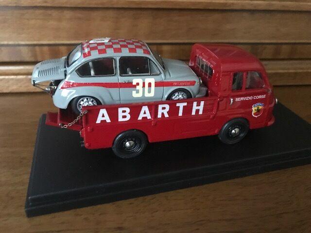 Exoto 1 HAND BUILT Abarth Servizio Corse + 1000 TC 1 43  EHB No. 01