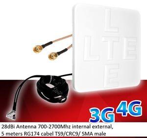 Mobile-Broadband-Antenna-Huawei-Aerial-Booster-B593-B315-B310-E5186-SMA-28dbi