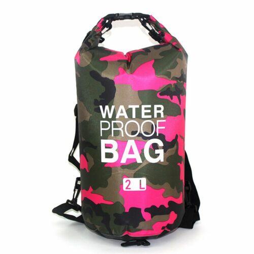2//5//10//15L Waterproof Dry Bag Storage Sack Hiking Camping Fishing Kayaking