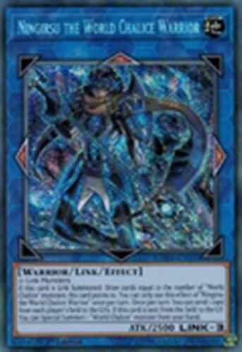 Ningirsu the World Chalice Warrior COTD-EN050 1st  X 1 Mint YUGIOH Secret