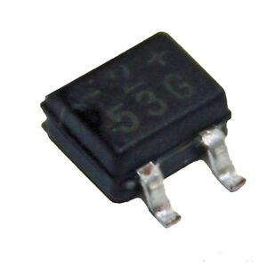 10x-SMD-Brueckengleichrichter-MB2S-E3-80-0-5A-200V-Gleichrichter-von-Vishay