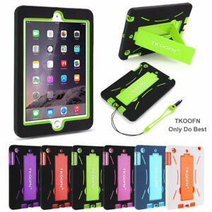 KIDS-DEFENDER-SHOCKPROOF-STAND-CASE-COVER-RUBBER-FOR-APPLE-iPad-4-3-2-Mini-Air