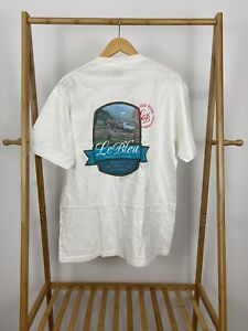 VTG-90s-Le-Bleu-Drinking-Water-Purity-Nature-Intended-Single-Stitch-T-Shirt-XL
