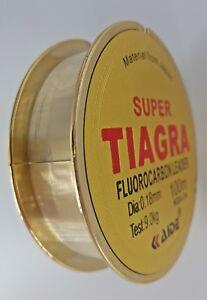 Flurocarbon-Angelschnur-Fluorocarbon-Erhoehte-Tragkraft-0-18mm-bis-0-50mm-gt-35kg