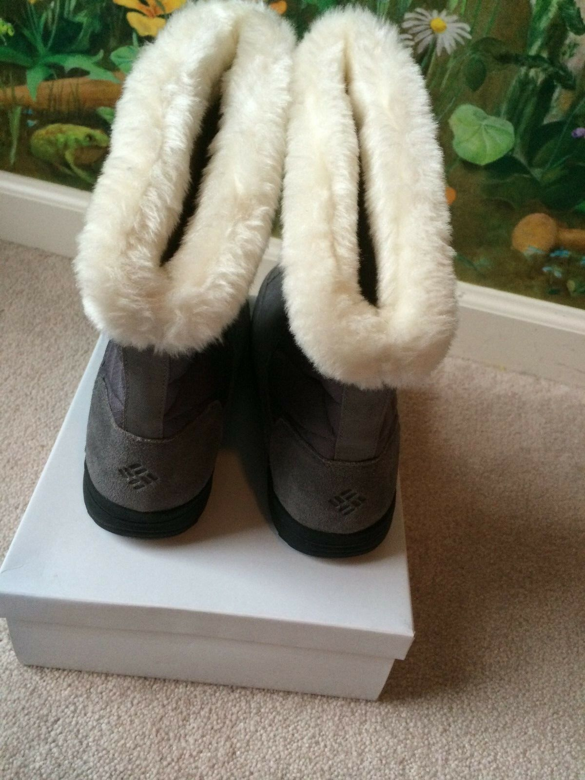 Columbia Ice Maiden Waterproof Snow Snow Snow Rain Winter Boots Slip On Size 5 NEW 5f6427