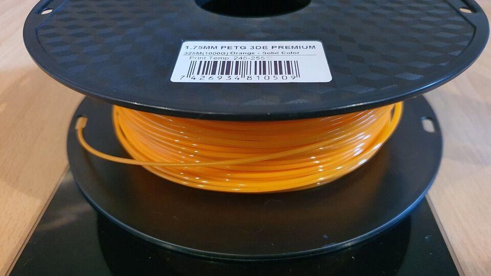 3D Printer, 3DE Filament 1.75 PETG, PETG