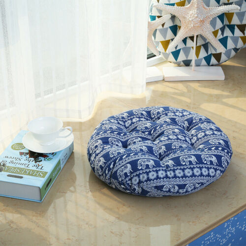 Bay Window Chair Pads Round Futon Seat Cushions Zabuton Meditation Pillow
