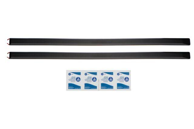 NEW OEM DODGE RAM 1500 2500 3500 REGULAR CAB CHROME DOOR MOLDINGS GENUINE MOPAR