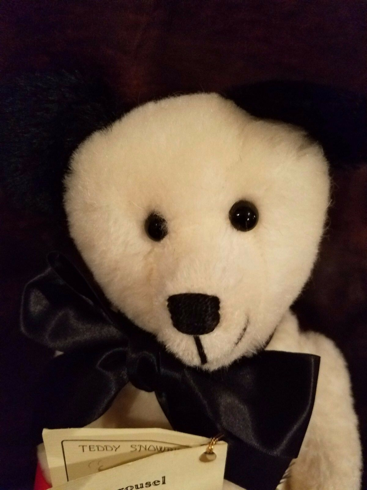 Carrousel  Teddy Snowbird  14  Bear Terry and Doris Michaud Handcrafted Mohair