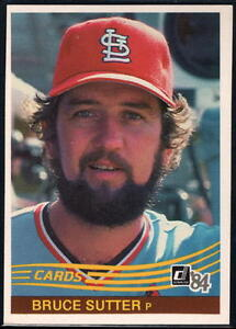 Image Is Loading 1984 Donruss Baseball Pick A Player Cards 441