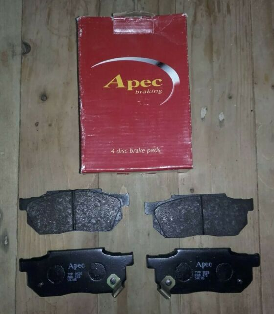 HONDA ACCORD CIVIC CRX FIT PRELUDE NEW QUALITY BRAKE PADS PAD472