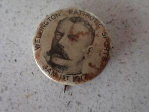 Wellington-Patriotic-Sports-January-1st-1917-badge-Pin-Bag-2