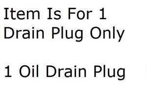 Engine Oil Drain Plug Dorman 090-091