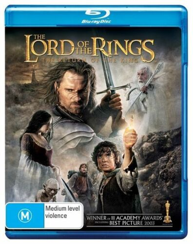 1 of 1 - The Lord Of The Rings - The Return Of The King (Blu-ray, 2003)