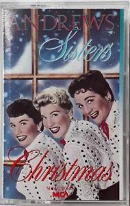 Andrews-Sisters-Christmas-Cassette-1987-MCA-MCAC-20415-Jingle-Bells