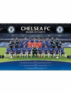 "CHELSEA FC 2014 2015 TEAM MINI POSTER ""LICENSED"" ""BRAND NEW"""