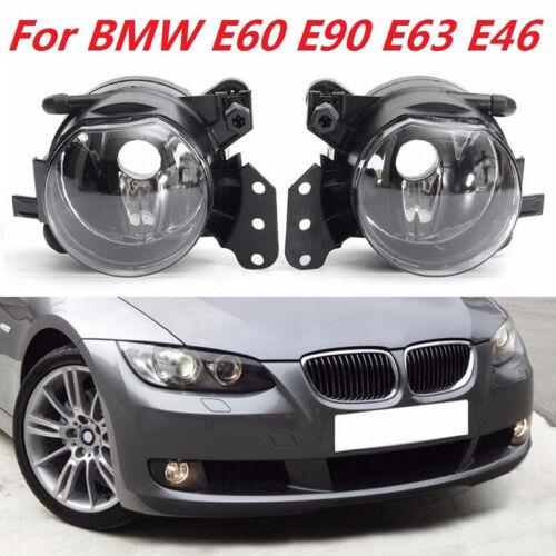 R Phare avant Anti-brouillard pour BMW E60 E90 E63 E46 323i 325i 1 Paire L