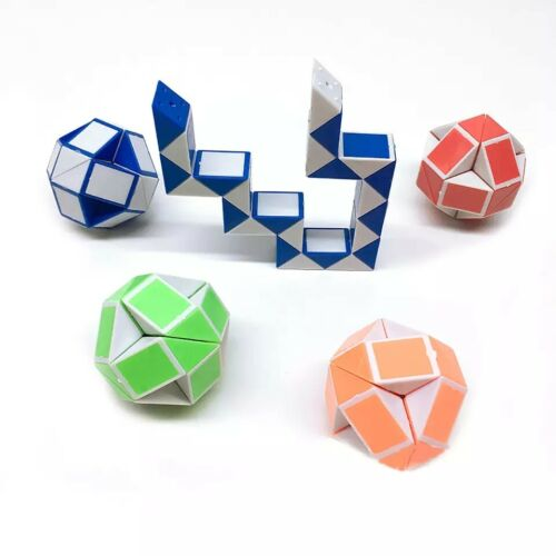 Mini Snake Speed Cubes Twist Puzzle Toys for Kids