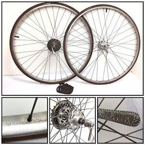 Vintage-Road-Bike-Nisi-jantes-Toro-Gnutti-Campagnolo-Hub-Avec-Q-R-Eroica-27-034