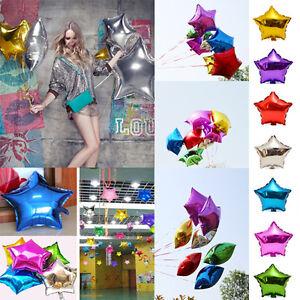 Ballon etoile anniversaire d coration mariage f te helium foil gonflable idxx - Decoration mariage ballon ...