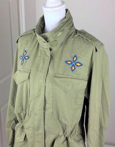 Denim /& Supply Ralph Lauren Women Military Army Officer Jacket Coat S M L XL