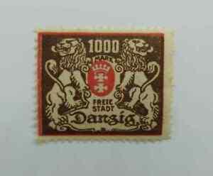 Danzig-Germany-1923-1000-Marks-mnh-BN151