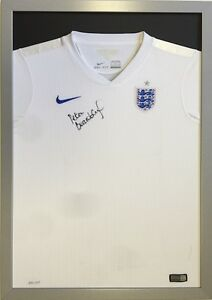 SILVER-CLASSIC-FRAME-TO-DISPLAY-FOOTBALL-SHIRT-FRAME-FOR-SHIRT-ENGLAND