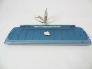 SAMMLER-Apple-USB-Keyboard-Tastatur-BLAU-BLUEBERRY-iMac-DV-M2452-GRADE-A