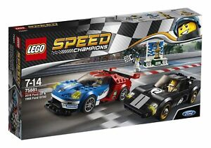 Image Is Loading Lego Sd Champions 2016 Ford Gt Amp 1966