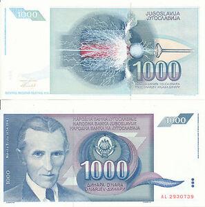 Yugoslavia-Yugoslavia-1000-Dinara-1991-UNC-Pick-110
