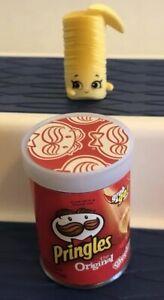 SHOPKINS SEASON 12 REAL LITTLES Snack Character Pringles Original Red RL-035 2pc