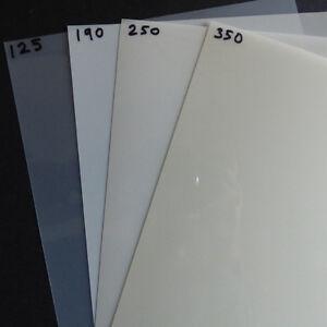 MYLAR-250-micron-A3-FOGLI-297X420MM-mm-Taglio-Stencil-ORIGINALE-CLASSE-A-MYLAR