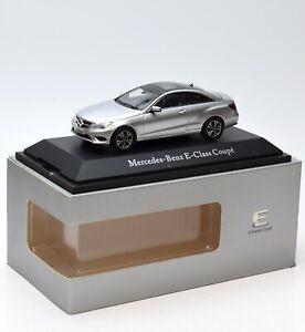 Mercedes-Benz E-Klasse Coupé Iridiumsilber *MB Werbemodell*Kyosho*1:43*OVP NEU